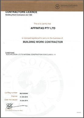 Insurance & License – Affinitas